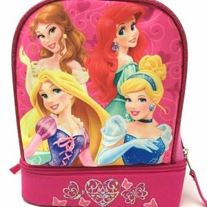 Disney Princess Lunch Bag Belle Ariel Cinderella